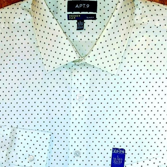 **NEW** APT. 9 Long Sleeve Button Down